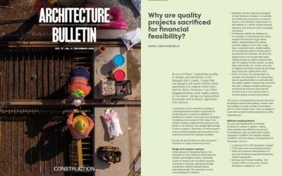 Publication Announcement: Architecture Bulletin Vol. 77