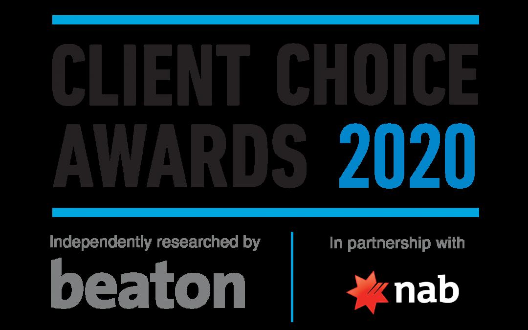 Client Choice Award Winners